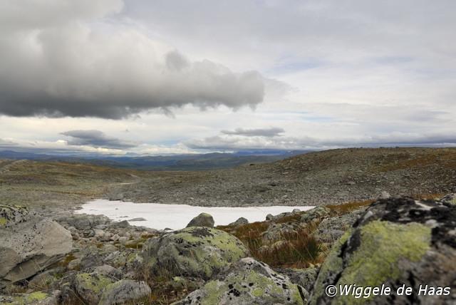Landschap vanaf Snowhetta