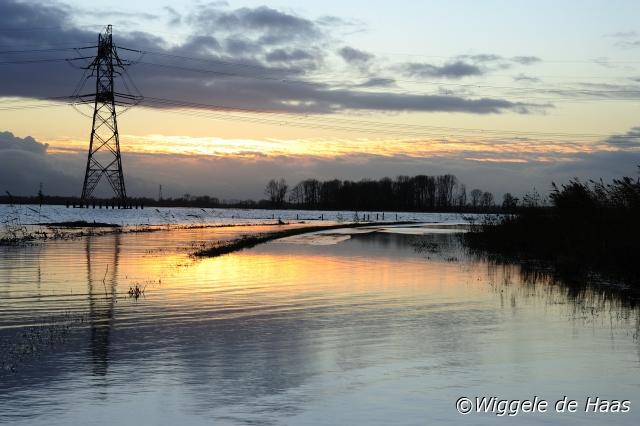 Hoogwater polder Donderzand