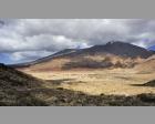 Zicht in de krater rondom El Teide