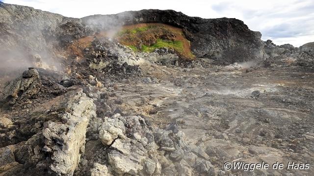 Stomende Lava